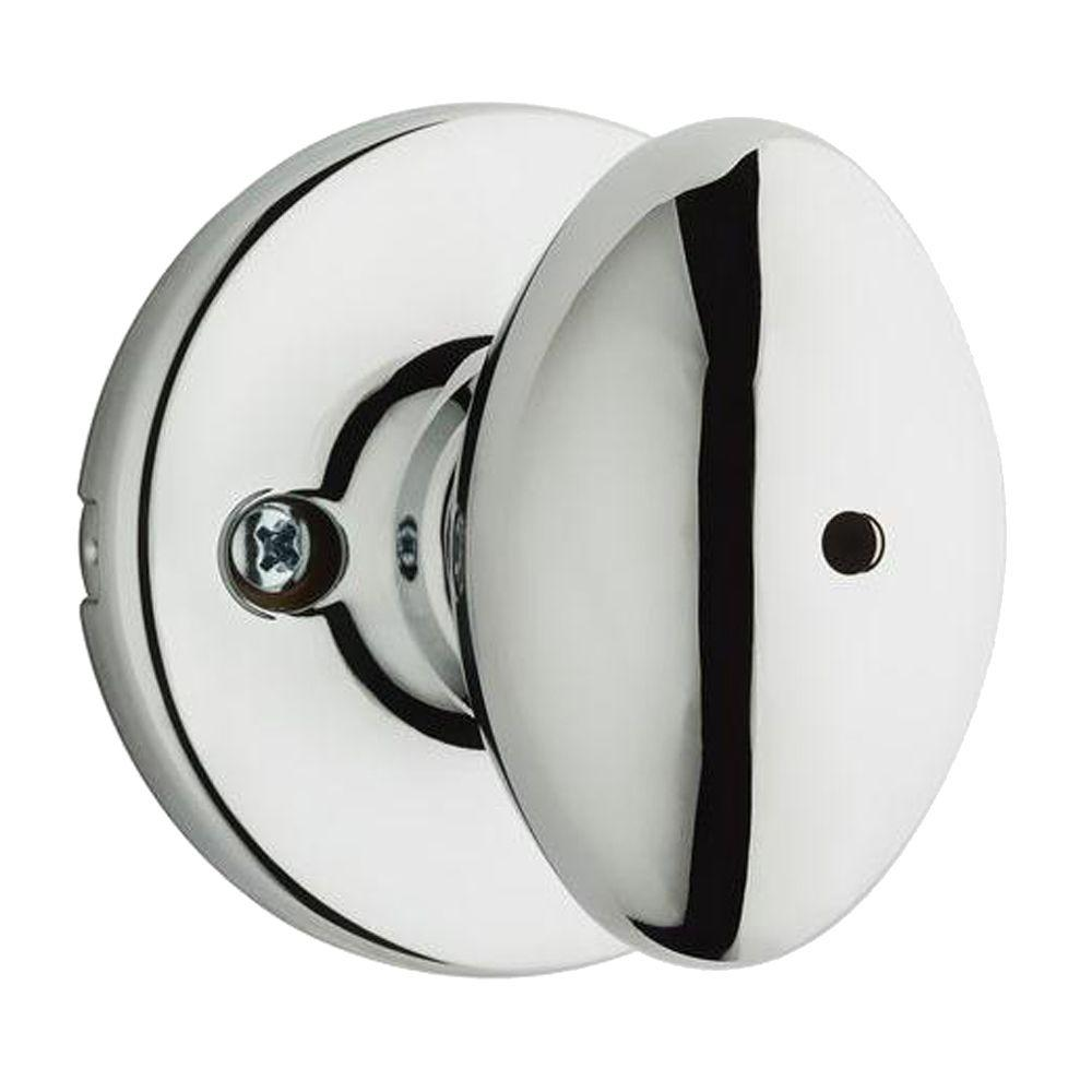 Aliso Polished Chrome Bed/Bath Knob
