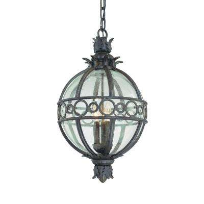 Campanile 4-Light Campanile Bronze Outdoor Pendant