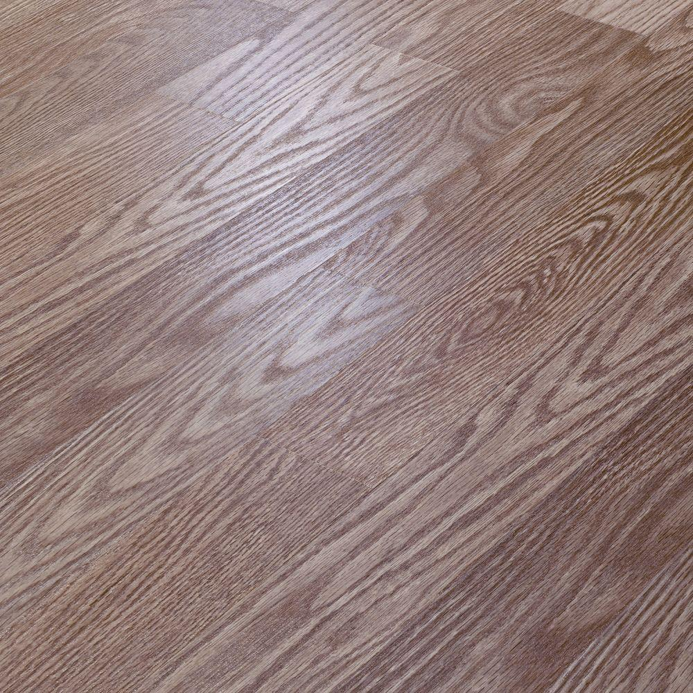 null Natural Oak Laminate Flooring - 5 in. x 7 in. Take Home Sample-DISCONTINUED