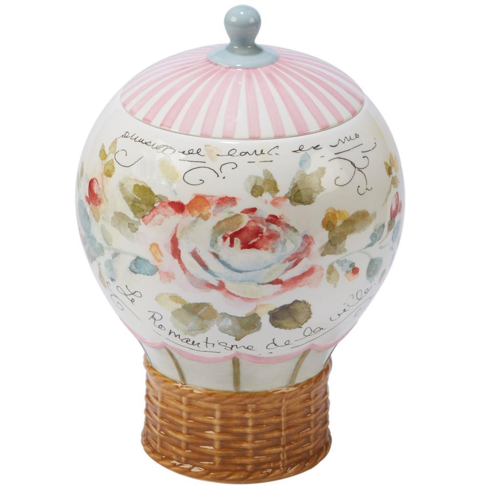 Certified International Beautiful Romance Multi-Colored 9.75 in. 3-D Balloon