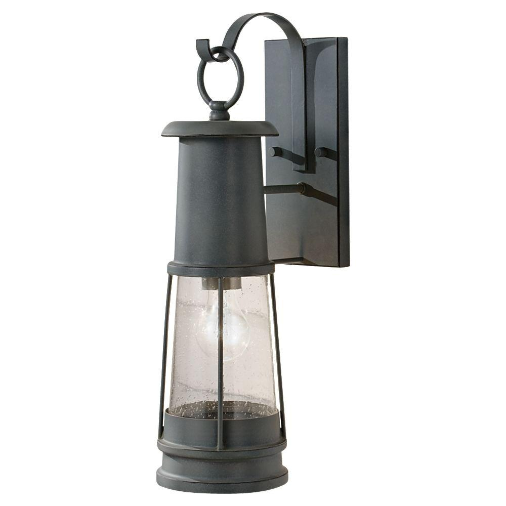 Feiss Chelsea Harbor 1-Light Storm Cloud Outdoor Lantern