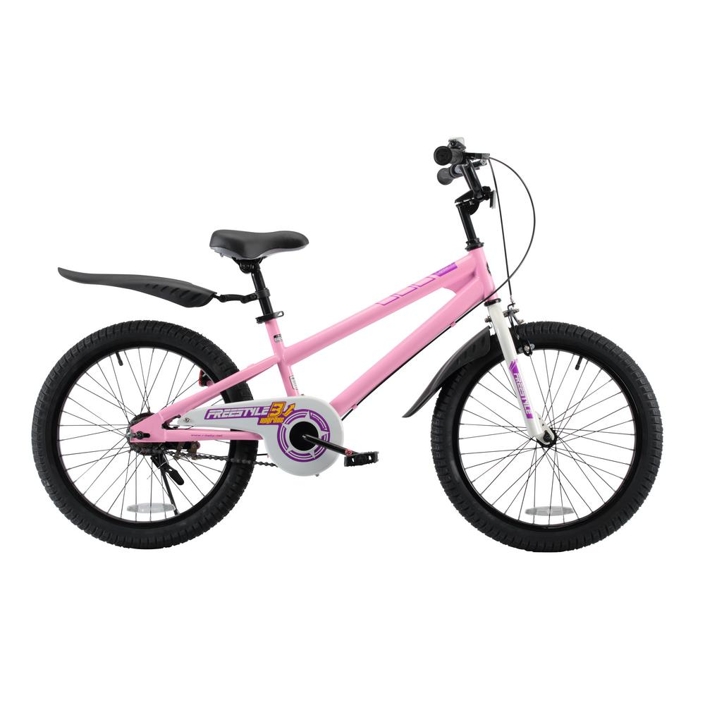 BMX Freestyle Boy's and Girl's Bike 20 in. wheels in Pink