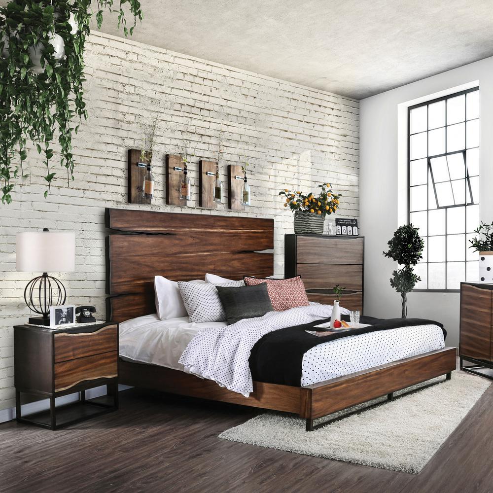 Phenomenal Clark 2 Drawer Dark Oak Dark Walnut Nightstand Download Free Architecture Designs Jebrpmadebymaigaardcom