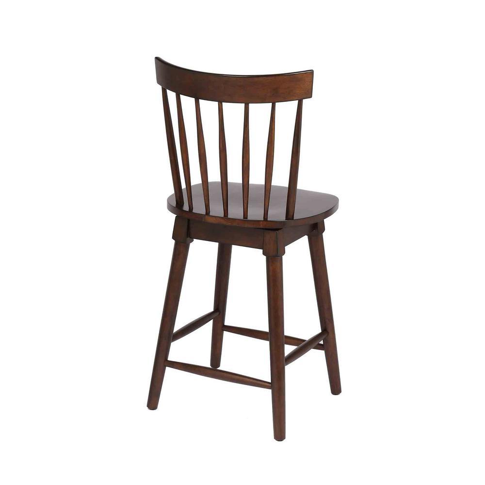Astounding Craft Main Elise 24 In Walnut Counter Height Swivel Bar Bralicious Painted Fabric Chair Ideas Braliciousco