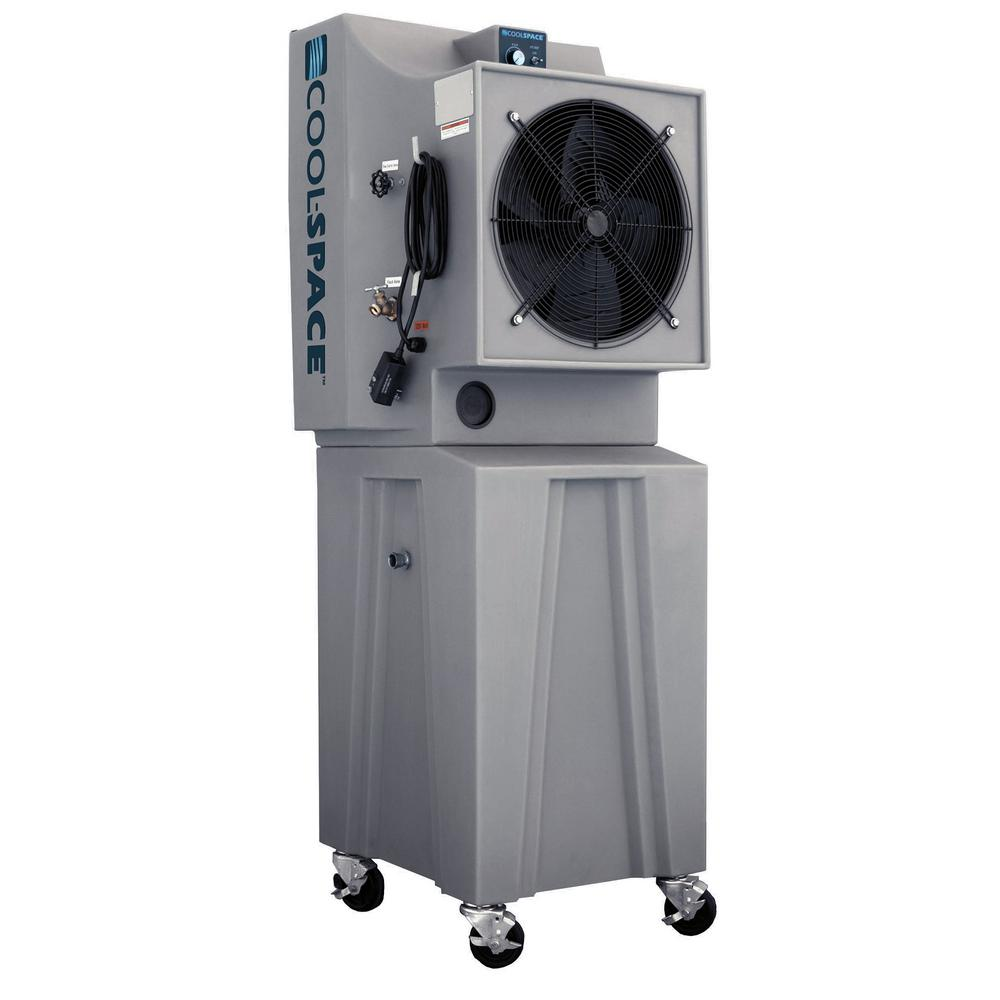 Glacier18TB 2825 CFM 12-Speed Portable Evaporative Cooler for 1200 sq. ft.