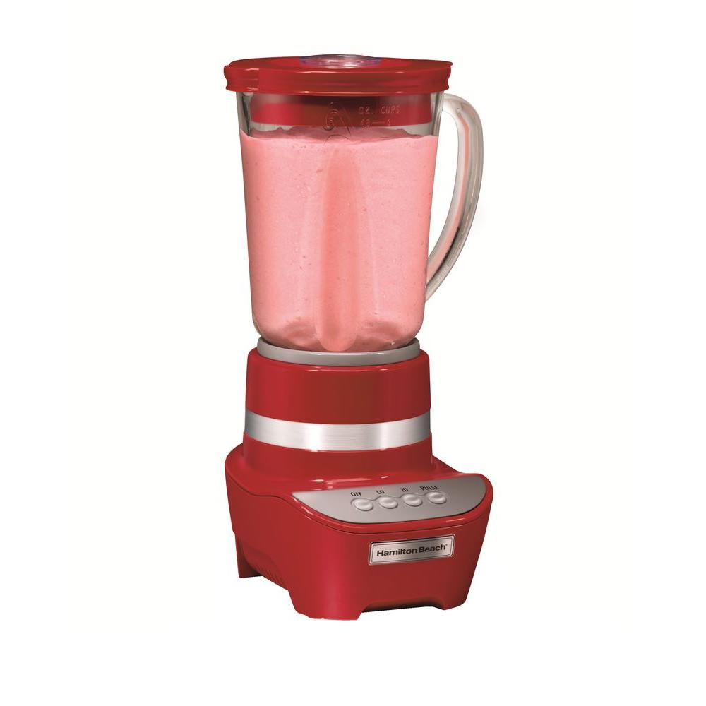 Hamilton Beach 2-Speed Blender in Red-DISCONTINUED