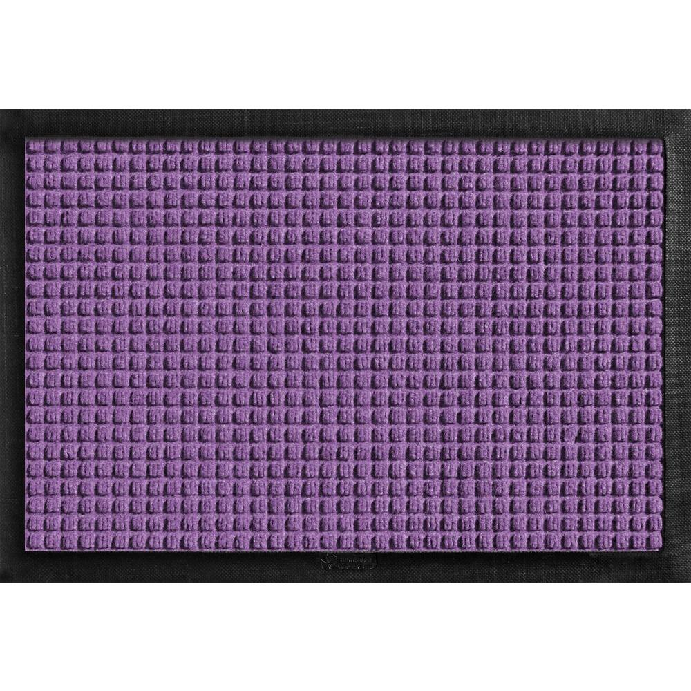 Bungalow Flooring Aqua Shield With Rubber Border Purple 17.5 In. X 26.5 In.  Pet Mat 200681827   The Home Depot