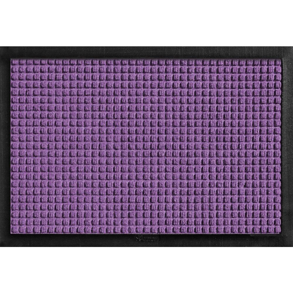 Aqua Shield with Rubber Border Purple 17.5 in. x 26.5 in. Pet Mat