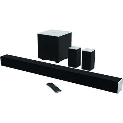 38 in. 5.1-Channel Soundbar with Wireless Powered Subwoofer and Bluetooth