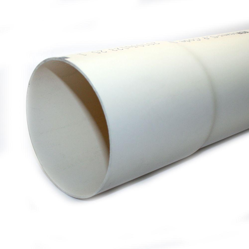 Jm Eagle 4 In X 10 Ft Pvc D2729 Sewer And Drain Pipe