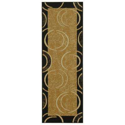 Ephes Collection Beige 1 ft. 10 in. x 6 ft. 10 in. Runner
