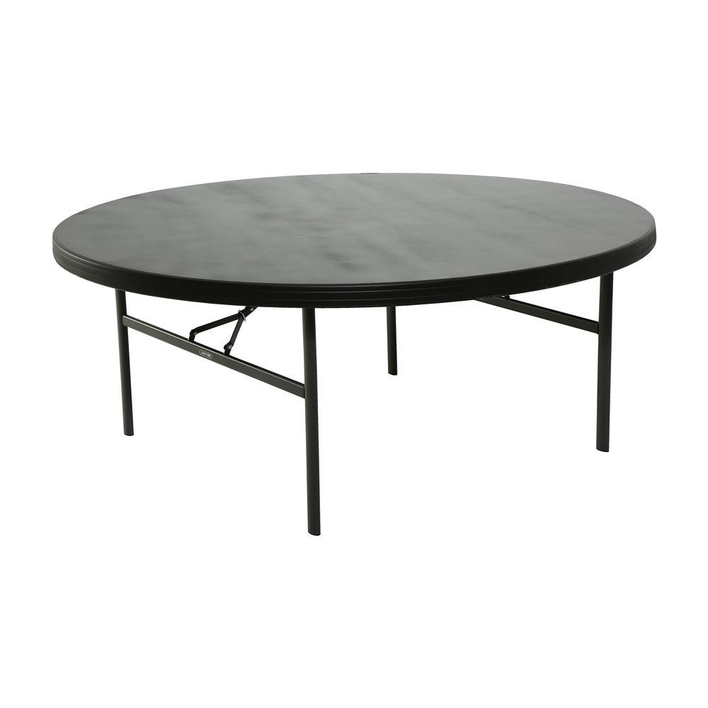 Lifetime Pack Folding Table Black