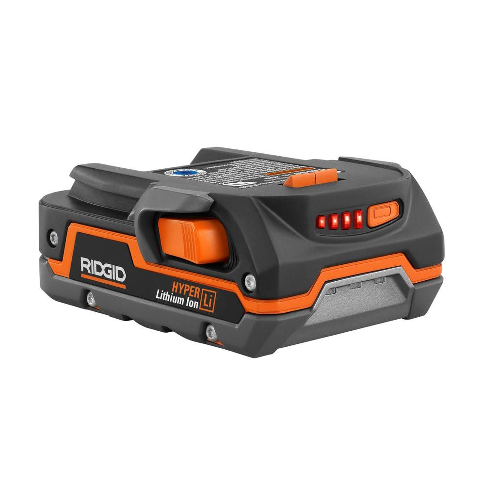RIDGID 18-Volt X4 Hyper Lithium-Ion Battery