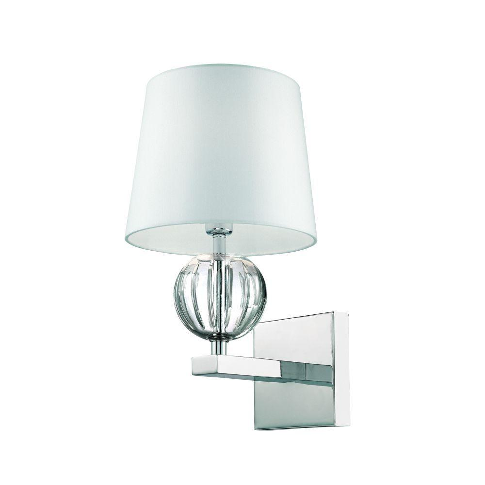null Speranza Collection 1-Light Chrome Wall Sconce-DISCONTINUED