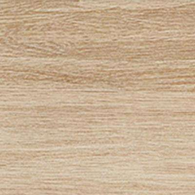 Atwood Wheat Matte 3 in. x 18 in. Glazed Porcelain Bullnose Trim Tile