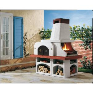 LaToscana Palazzetti Parenzo Charcoal or Wood Fire Pizza Oven from Charcoal Grills