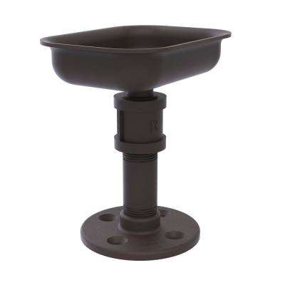 Pipeline Collection Vanity Top Soap Dish in Oil Rubbed Bronze