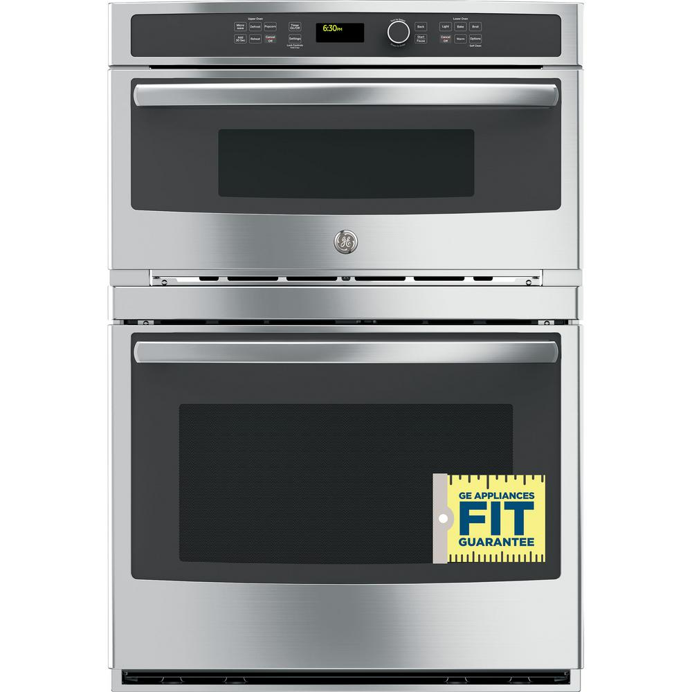 ge 30 in double electric wall oven with built in. Black Bedroom Furniture Sets. Home Design Ideas
