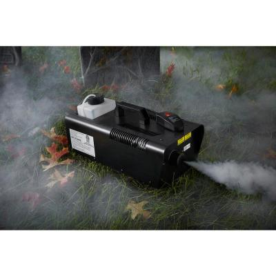 1000-Watt Fog Machine with Wired Remote and Auto-Stop Function