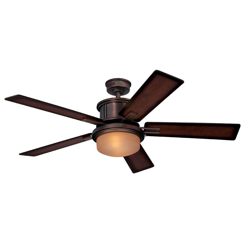 Westinghouse goodwin 52 in indoor oil brushed bronze ceiling fan 7201400 the home depot - Westinghouse and living ...