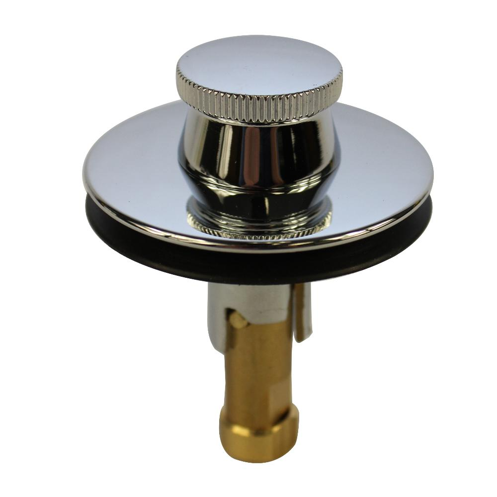 DANCO Universal Lift And Turn Drain Stopper In Chrome