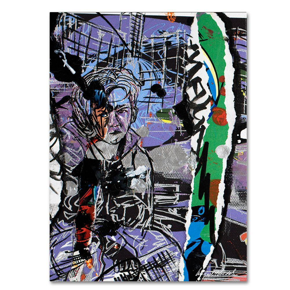 14 in. x 19 in. Abstract II Canvas Art