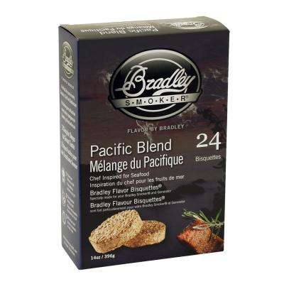 Pacific Blend Flavor Wood Chips Bisquettes