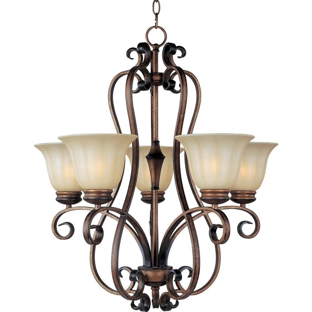 Maxim lighting fremont 5 light platinum dusk chandelier 22245wspd maxim lighting fremont 5 light platinum dusk chandelier mozeypictures Images