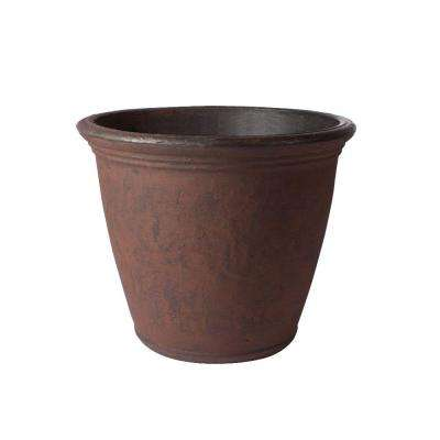 24 in. x 19.5 in. Rust Marino Plastic Planter