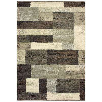 Asher Brown 5 ft. 3 in. x 7 ft. 6 in. Area Rug