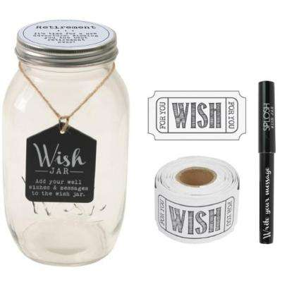 4.5 in. x 8 in. Retirement Wish Jar