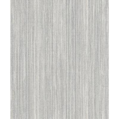 57.8 sq. ft. Audrey Taupe Texture Wallpaper