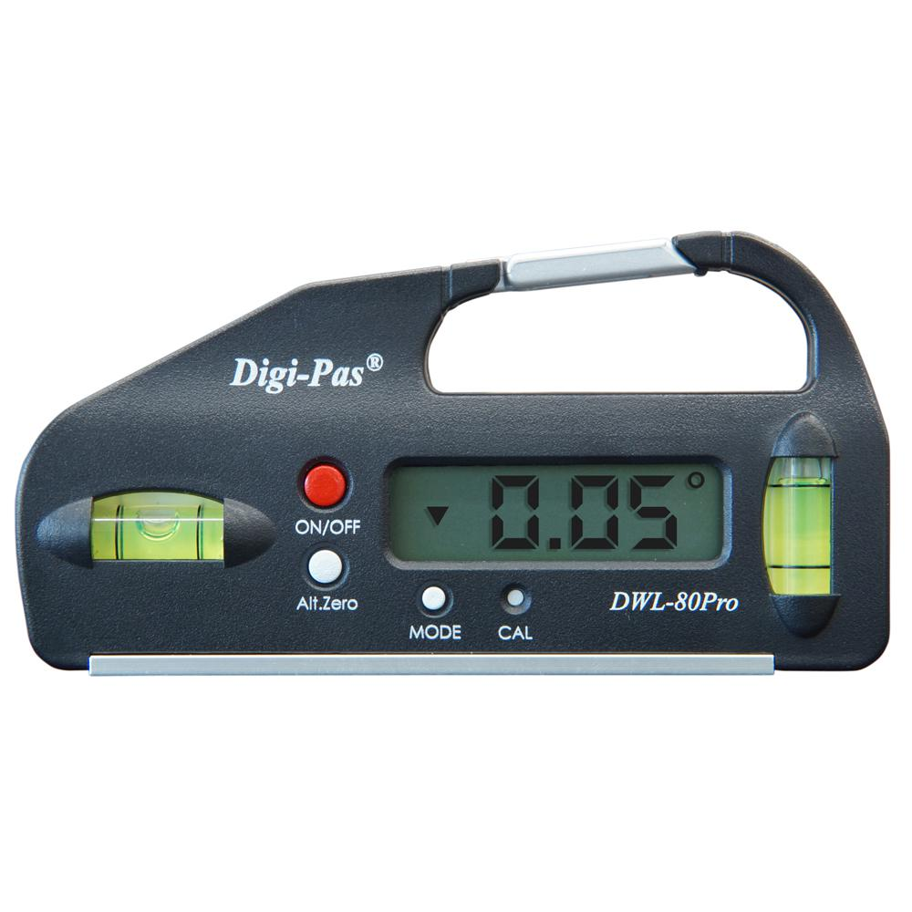 4 in. Pocket Size Digital Level with Electronic Angle Gauge Protractor