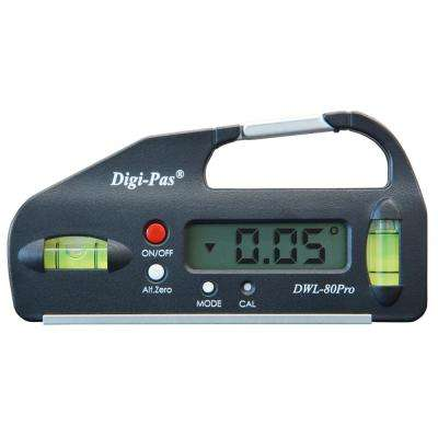 4 in. Pocket Size Digital Level with Electronic Angle Gauge Protractor Angle Finder Bevel Gauge 0.05