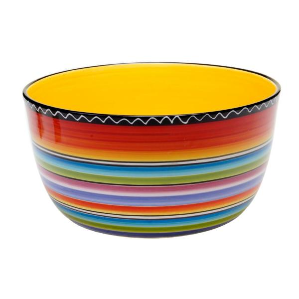 Certified International Tequila Sunrise Deep Serving Bowl 43549