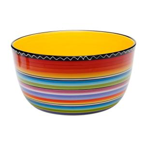 Tequila Sunrise Deep Serving Bowl by