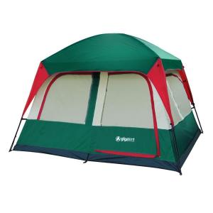 Click here to buy GigaTent Prospect Rock 5-Person Cabin Tent by GigaTent.