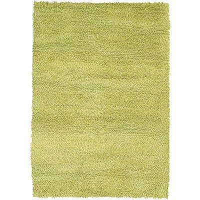 Strata Light Green 9 ft. x 13 ft. Indoor Area Rug