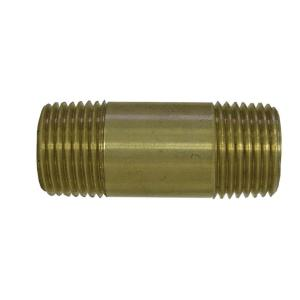Everbilt Lead-Free Brass Pipe Nipple 3/4 inch x 4 inch MIP by Everbilt