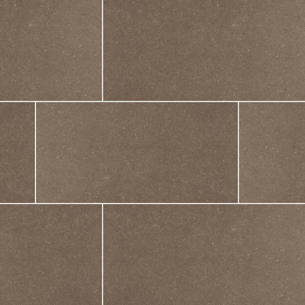 Beton Concrete 24 in. x 48 in. Matte Porcelain Floor and Wall Tile (6 cases / 96 sq. ft. / pallet)