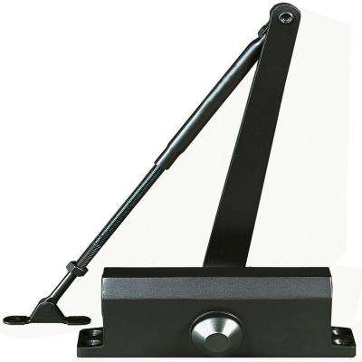 Residential/Light Duty Commercial Door Closer with Parallel Arm Bracket in Duronotic - Size 2
