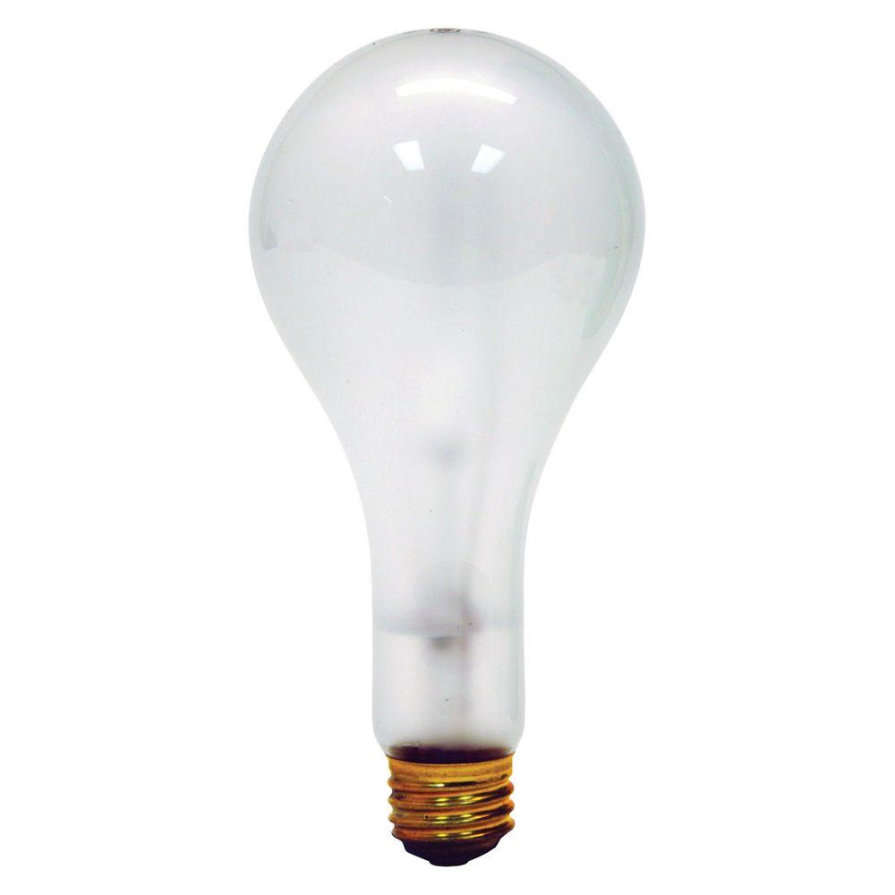 Ge 100 200 300 watt incandescent ps25 3 way mogul base soft white light bulb 100 300 tp6 the 3 way light bulbs