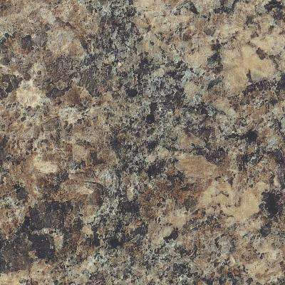 5 in. x 7 in. Laminate Countertop Sample in Jamocha Granite with Premiumfx Etchings Finish