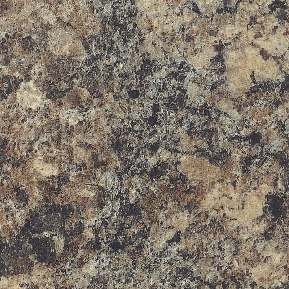 5 ft. x 12 ft. Laminate Sheet in Jamocha Granite with Matte Finish