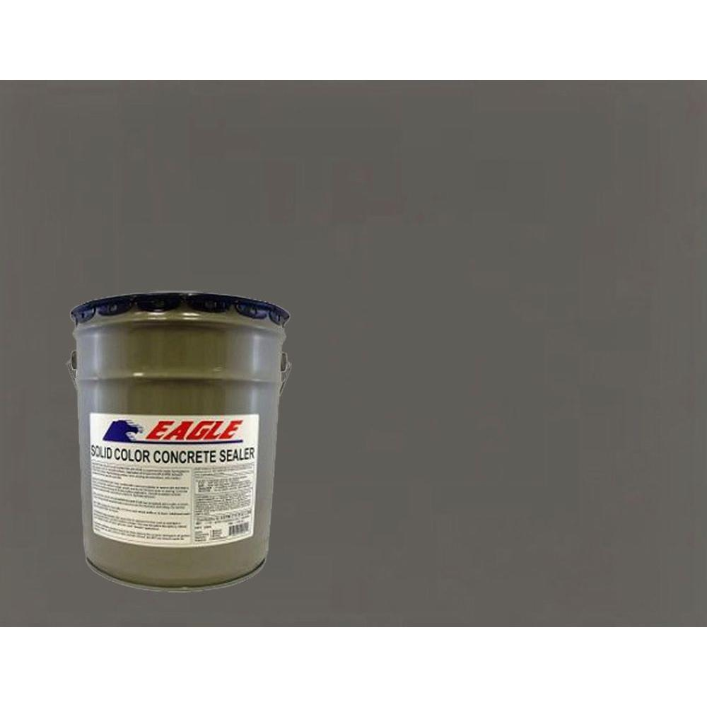 eagle 5 gal muddy gray solid color solvent based concrete sealer ehmg5 the home depot. Black Bedroom Furniture Sets. Home Design Ideas
