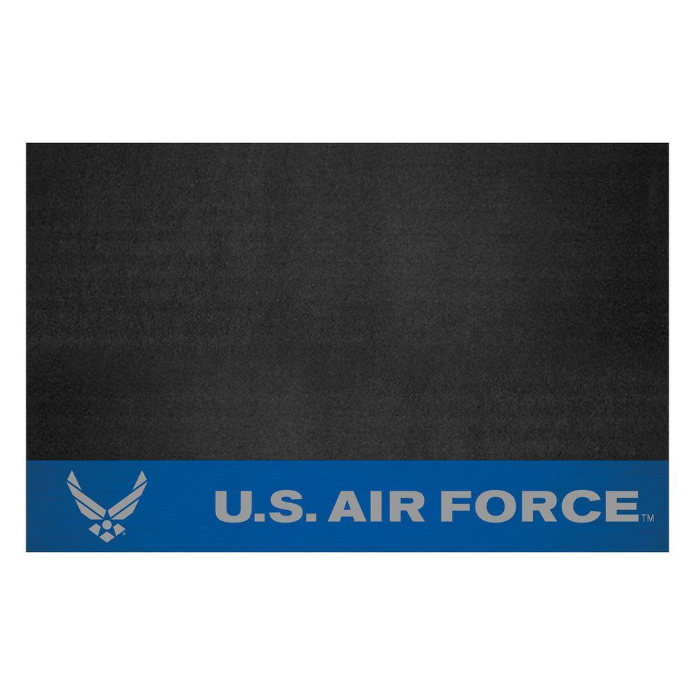 MIL - U.S. Air Force 42 in. x 26 in. Vinyl Grill Mat