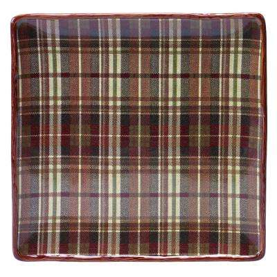 The Rustic Nature Collection 12.5 in. Square Platter