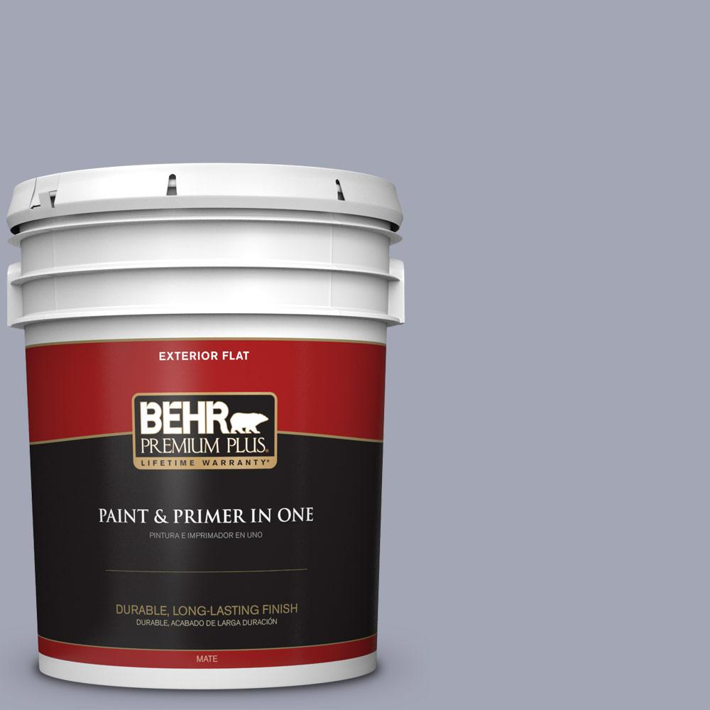 5 gal. #PPU15-11 Great Falls Flat Exterior Paint