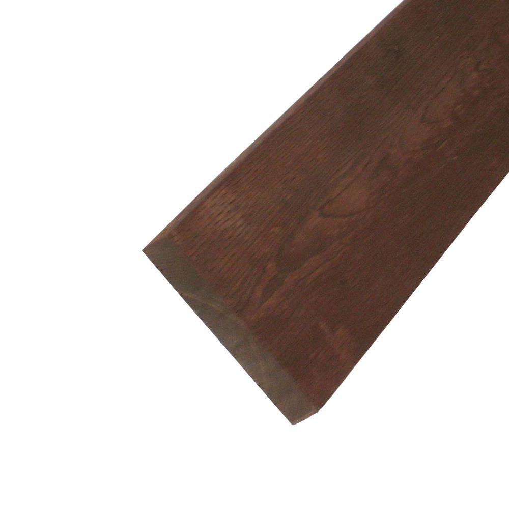 null Pressure-Treated Lumber HF Brown Stain (Common: 2 in. x 10 in. x 10 ft.; Actual: 1.5 in. x 9.25 in. x 120 in.)