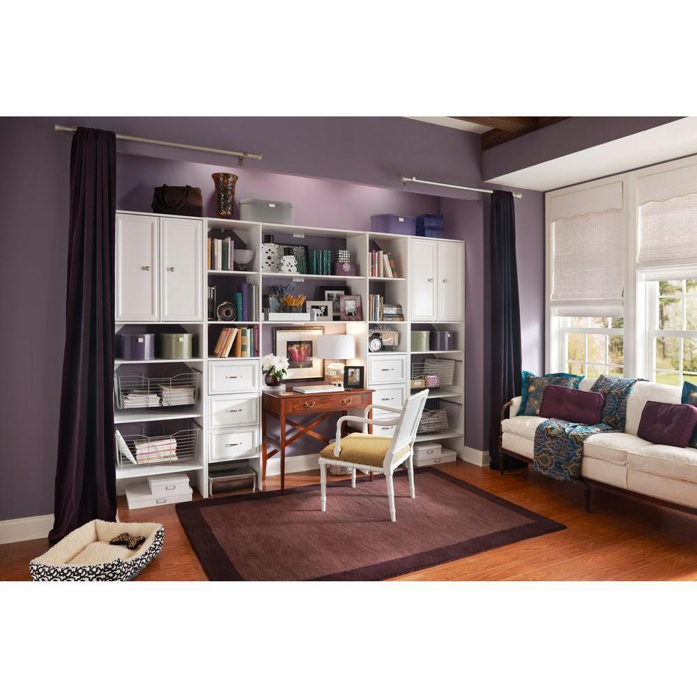 Closetmaid Selectives 25 In White Custom Closet Organizer